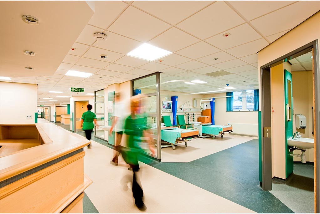 Smart Ultraviolet Air Disinfection in Hospitals